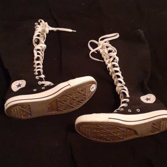 Converse Shoes - Converse all stars knee high chuck Taylor's